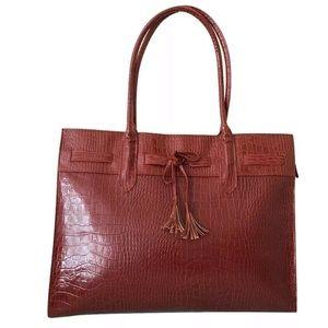 Elizabeth Arden Tote Bag Red Handbag